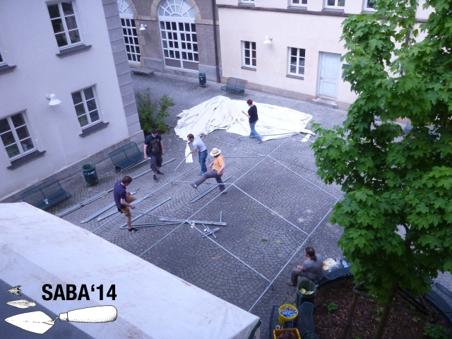 SABA 2014-26 Zelt